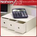 Naham oficina papelería de escritorio de misceláneas 3- cajas de almacenamiento organizador del cajón