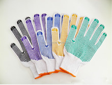 Good Resistance and Grip One Side Dots Coated Gloves
