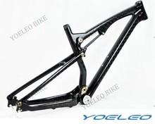 Venta al por mayor promocional de carbono completo bicicleta de montaña con suspensión 26