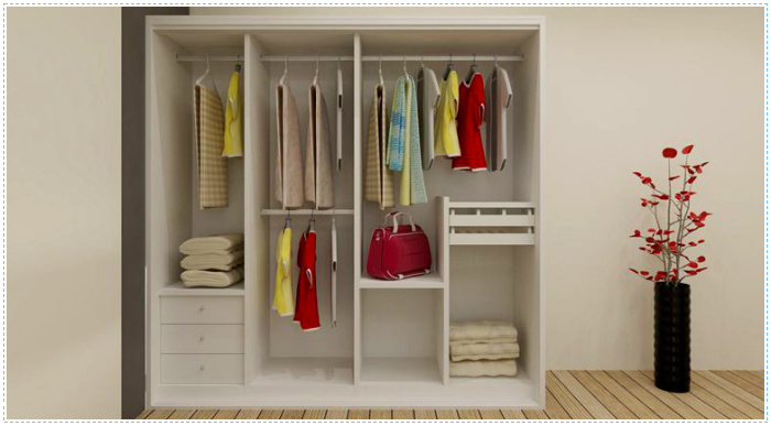 Modern bedroom hanging clothes designer almirah wardrobe view wardrobe rail ritz ritz - Almirah designs for clothes ...