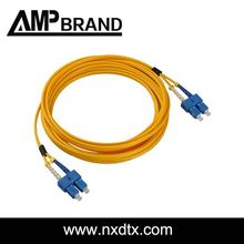 AMPbrand china supplier jumper sc fiber optic patch cord