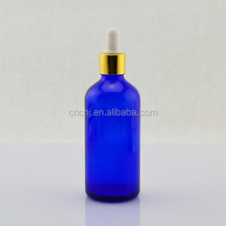 Cheap child proof 100ml glass dropper bottle for cosmetics