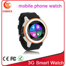 wonderful waterproof watch phone 3g wifi and android bluetooth 4.4 supplier
