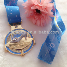 Custom High Quality 3D metal medal/ award medallion/emblem medals