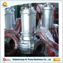 Centrifugal submersible pump electric non-clogging submersible sewage pump