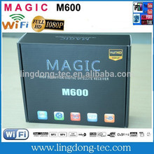 Smart tv receiver magic m600 with 3g iptv sks iks free for latin America