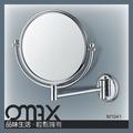 popular braço único espelho fixado na parede com 2x manifying espelho