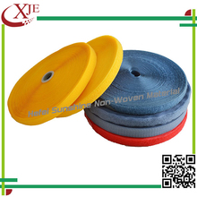 High quality nylon blue and green double sided velcro roll tape