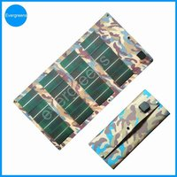 12W flexible and foldable CIGS 12 volt solar charger