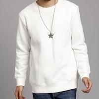 Stock Lot Plain Sweatshirts Cheap Custom Pullover Sweatshirts