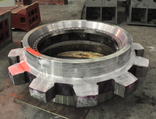OEM large casting sprocket driving chain wheel