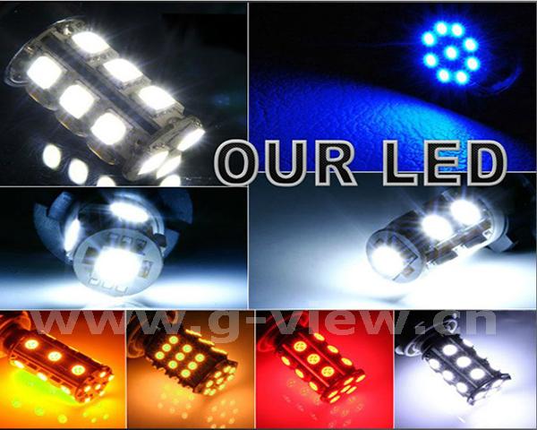 Hotsale factory wholesale led car light 880 led fog light h27w led bulb