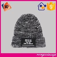 Unisex Women Men Casual Winter Warm labelling embroidery crochet hats