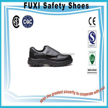 durable no lace full grain upper genuine leather safety shoes M-4634