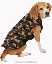 Dog Jacket Large Breed Green Dinosaur Camo Fleece Vest For Dog - Coat Jumper Big Clothes Warm xxxL Dog Clothes