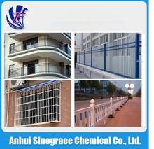 Architecture profiles aluminium windows electrostatic powder coating PC-AD1000