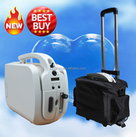 Mini Portable Oxygen Concentrator with battery and DC12V vehicle power supply for traveling