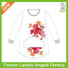 Teen girl sublimation t shirt from children clothing factory