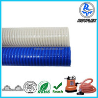 agricuture helix pvc pressure water pipes