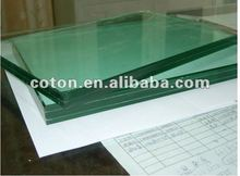 3-19mm clear Flat/Curve Tempered Laminated Glass for curtain wall /shower enclosure /wall and window
