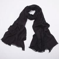 Ladies Acrylic solid long scarf/shawl