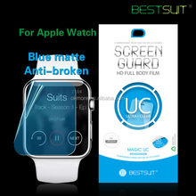 Import mobile phone accessories clear watch screen protector for apple watch