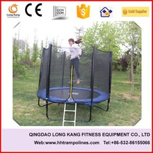 8FT easy assemble biggest trampoline with enclosure
