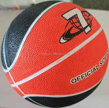 Low price promotional basketball with customized logo