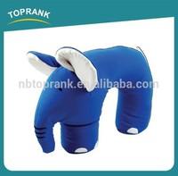 TOPRANK EN71/AZO FREE/FORMALDEHYDE/COLOR FASTNESS testing wholesale eco friendly kid pillow animal shape