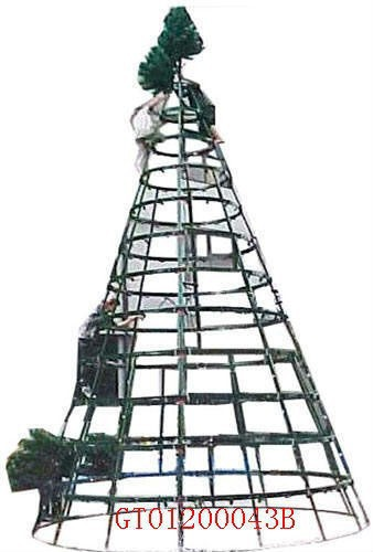 2015 giant tree outdoor metal frame christmas1 - Outdoor Metal Christmas Trees