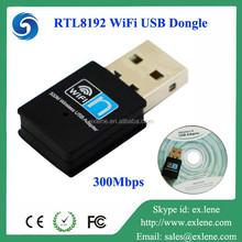 Hot 2.4G Mini wifi 300M RTL8192 CU EU xbox usb wireless adapter