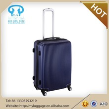 ABS beautiful shining travel trolley school luggage