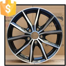 Hot Aluminum Alloy rims /wheels green white red gold finished for cars