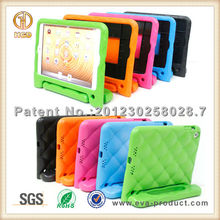 Various colors shock proof EVA standable tablet pc cases for iPad mini