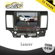 China factory for mitsubishi lancer car monitor with gps navigation system