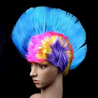 2015 Wholesale multi suprem ombr cosplay hot selling fashion and new design sales cheap Hair wigs