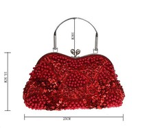 fashion beaded evening bag ladies clutch bags