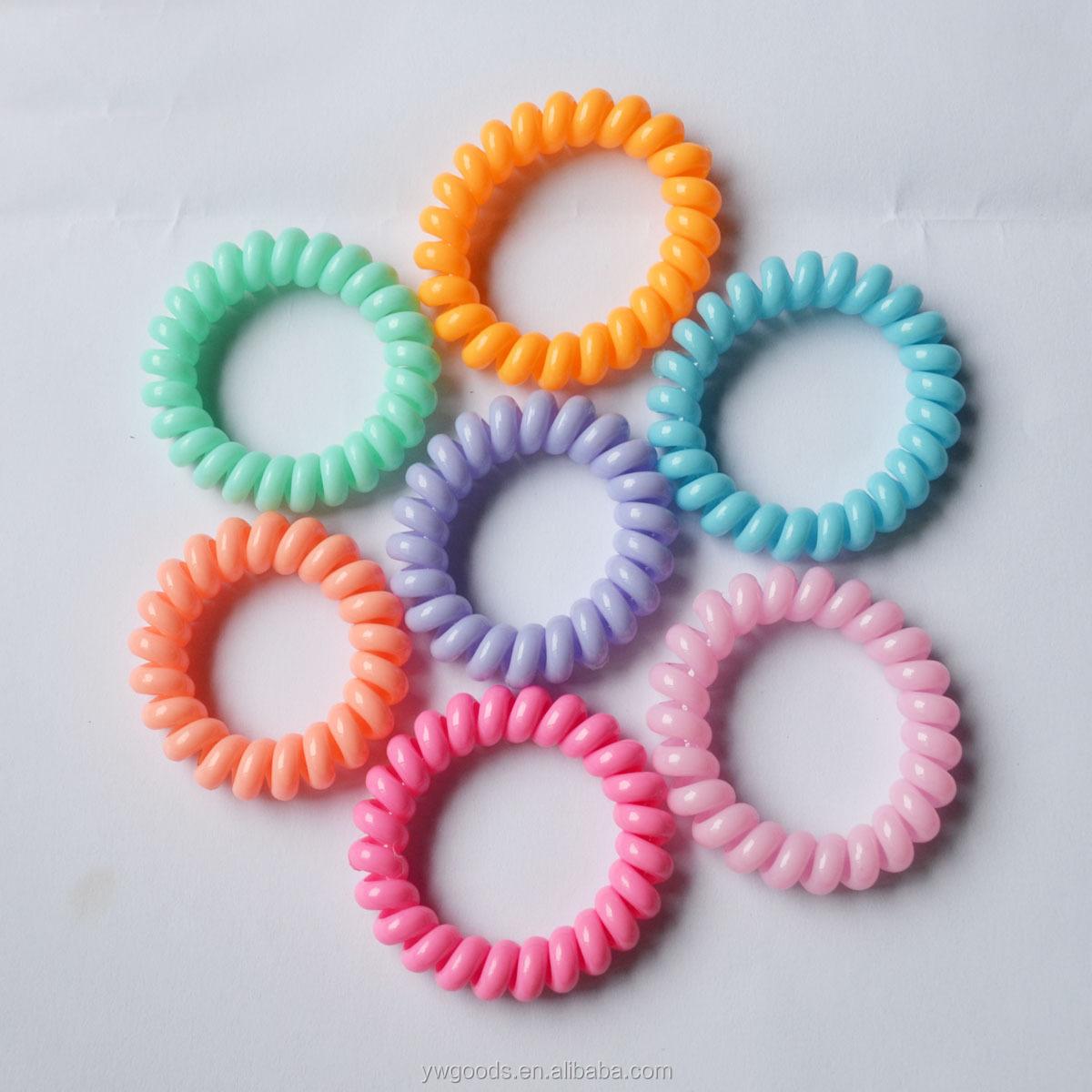 Fashion Elastic Hair Bands Cute Telephone Line Shaped Hair