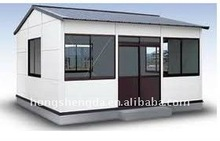 low cost sandwich panels beach vacation house/modular house
