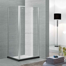 shower enclosure and hinge open style 6mm thickness cured glass