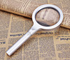 85MM aluminium alloy magnifying glass with 12 led light/magnifying glass handle/reading magnifying glasses