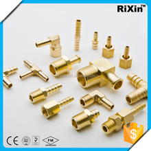 RX-1235 wholesale forked hose barb switch air hose fittings male forked hose barb connector