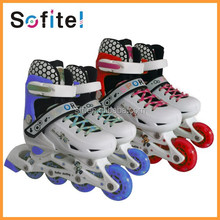 New style on road fashion adjustable inline skate shoes