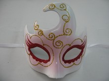 customize halloween party mask novelty magnetic face plastic christmas mask