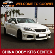 High quality fiberglass material F-WALD style bodykit for Lexus IS300