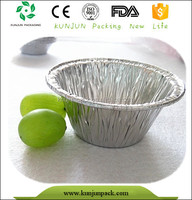 FDA KOSHER round disposable Microwave muffin pan
