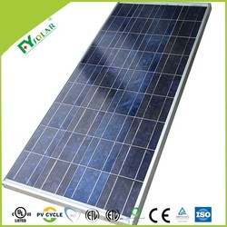 150W poly solar panel, manufacturer in china with certificates