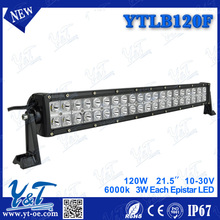 remote control amber flash led light bars High Performance YTLB120F led light bars 21.5inch for Truck,Boat,Mine,Motorcycle