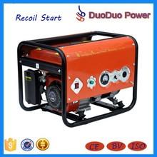 Hot Sale Engine Color For Option Transistor Magneto Manual Start Gasoline Generator 168F-1