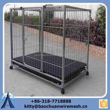 Heavy Duty Top Quality Big Dog Cage/Dog House/welded cages with wheels